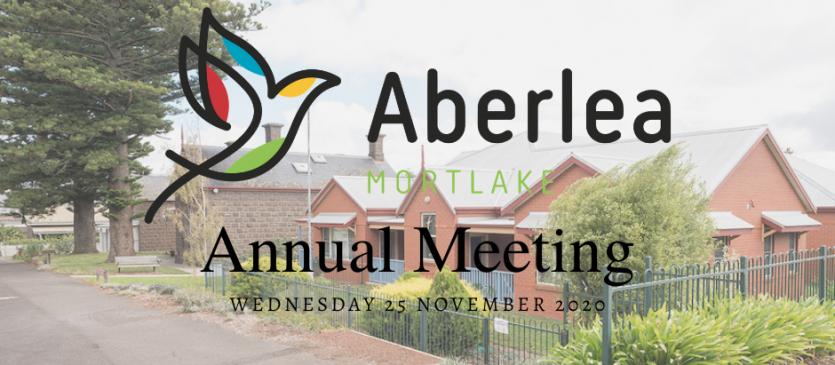 Aberlea AGM 2020